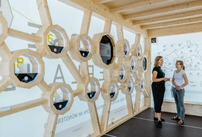 Kulturerlebnis in 3D geht auf Münsterland Tour