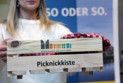 Picknick-Dialog stimmt Touristiker der Region auf die Münsterländer Picknicktage ein