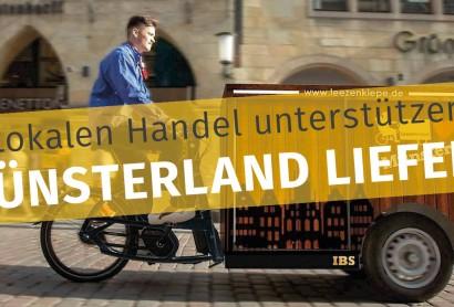 Das Münsterland liefert – Regionsweite Plattform bietet Händlern und Gastronomen schnelle Hilfe