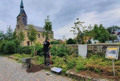 Projekt Friedensroute – Aufbau der ersten Hörstationen