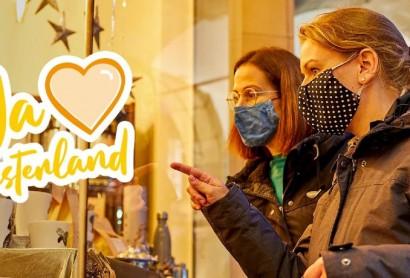 Münsterland e.V. wirbt für Weihnachtsshopping in der Region