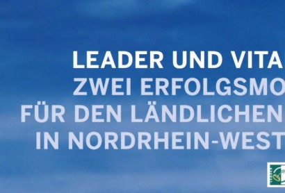 Broschüre zu LEADER- und VITAL.NRW-Projekten erschienen