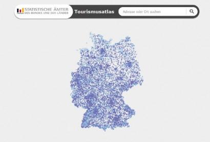 Neuer interaktiver Tourismusatlas für Deutschland