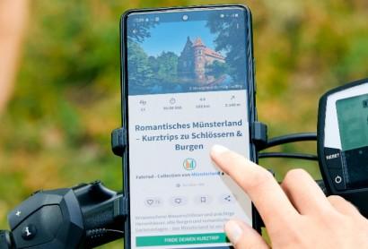 Münsterland mit 140 Routen bei komoot vertreten